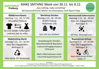 Make Something Week Programm